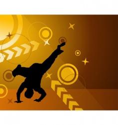 dancer vector image vector image