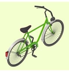 Bicycle isometric vector