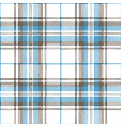 Blue and gray tartan plaid scottish pattern vector