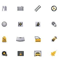 Car service icon set Part 2 vector