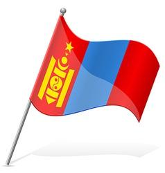 flag of Mongolia vector image