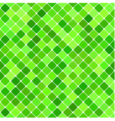 green abstract seamless diagonal square pattern vector image