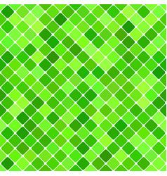 Green abstract seamless diagonal square pattern vector