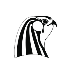 Horus icon simple style vector image