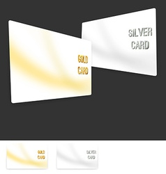 Member premium club card collection set vector image