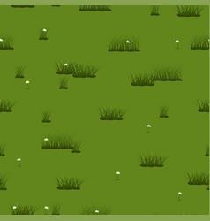 summer seamless texture green grass vector image