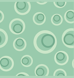 teal circle geometric pattern design background vector image