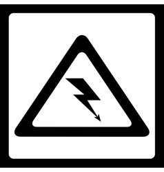 warning signs vector image
