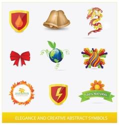 creative elegance web vector image vector image