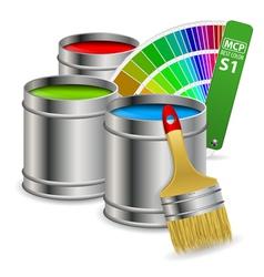 Paint Concept vector image