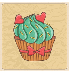cupcakes02 vector image vector image