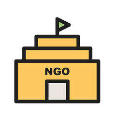 Ngo building vector