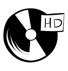 vinyl record icon cartoon vector image
