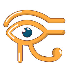 eye horus icon cartoon style vector image