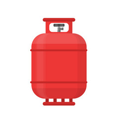 Gas tank icon propane cylinder pressure fuel lpd vector