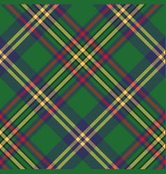 Green tartan classic seamless pattern vector