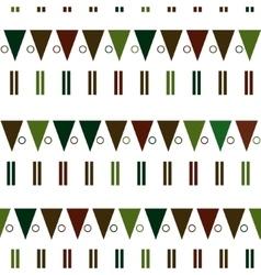 Seamless pattern in modern Scandinavian vector