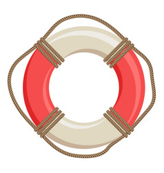 Ship life buoy nautical symbol vector