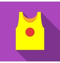 Sport t-shirt icon flat style vector