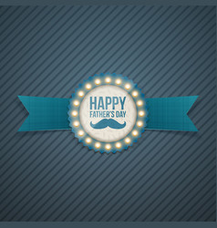 Happy fathers day festive signage template vector