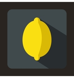 Lemon icon in flat style vector image vector image