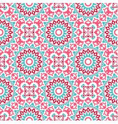 seamless oriental pattern vector image