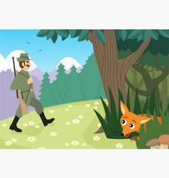hunting season vector image vector image