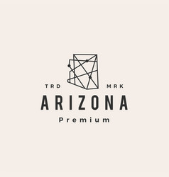 Arizona technology connection geometric hipster vector