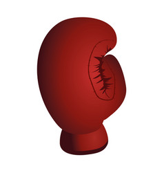 boxing glove cartoon vector image
