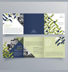 brochure design 991 vector image