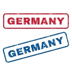 Germany Rubber Stamps vector image