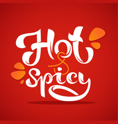 hot and spicy chili pepper logo icons vector image