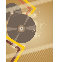 Music plate vector