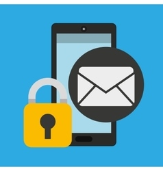 Smartphone email message security vector
