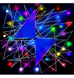 abstract background with two triangles for the tex vector image