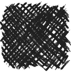 Black and white texture abstract background vector image vector image