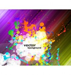 colorful flyer vector image