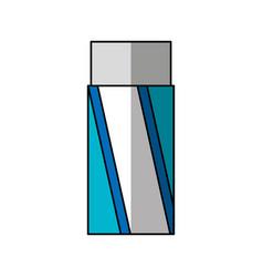 eraser school supply icon vector image