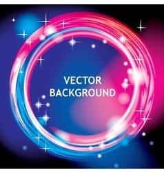 Light ring background vector