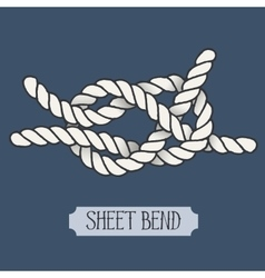 Single nautical knot vector
