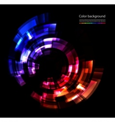 abstract color composition vector image