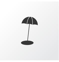 Beach umbrella icon symbol premium quality vector