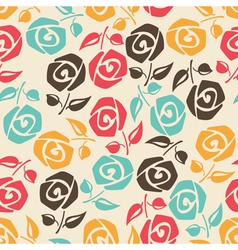 Colorful roses vector