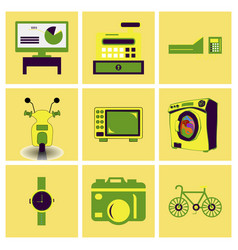 digital photography sign symbols digital vector image