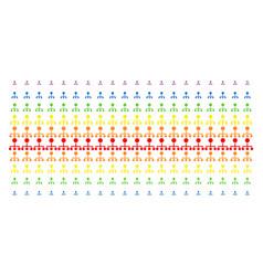 Hierarchy shape halftone spectral grid vector