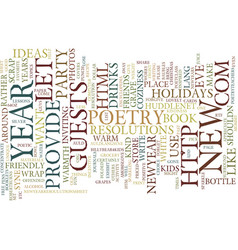 let your new year s be kind text background word vector image