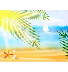 Travel and summer holidays vector image