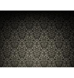 Dark seamless pattern vector image vector image