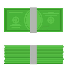 money top and ront view vector image