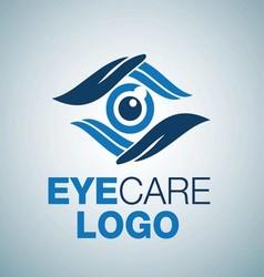 EYE CARE LOGO 8 vector image vector image